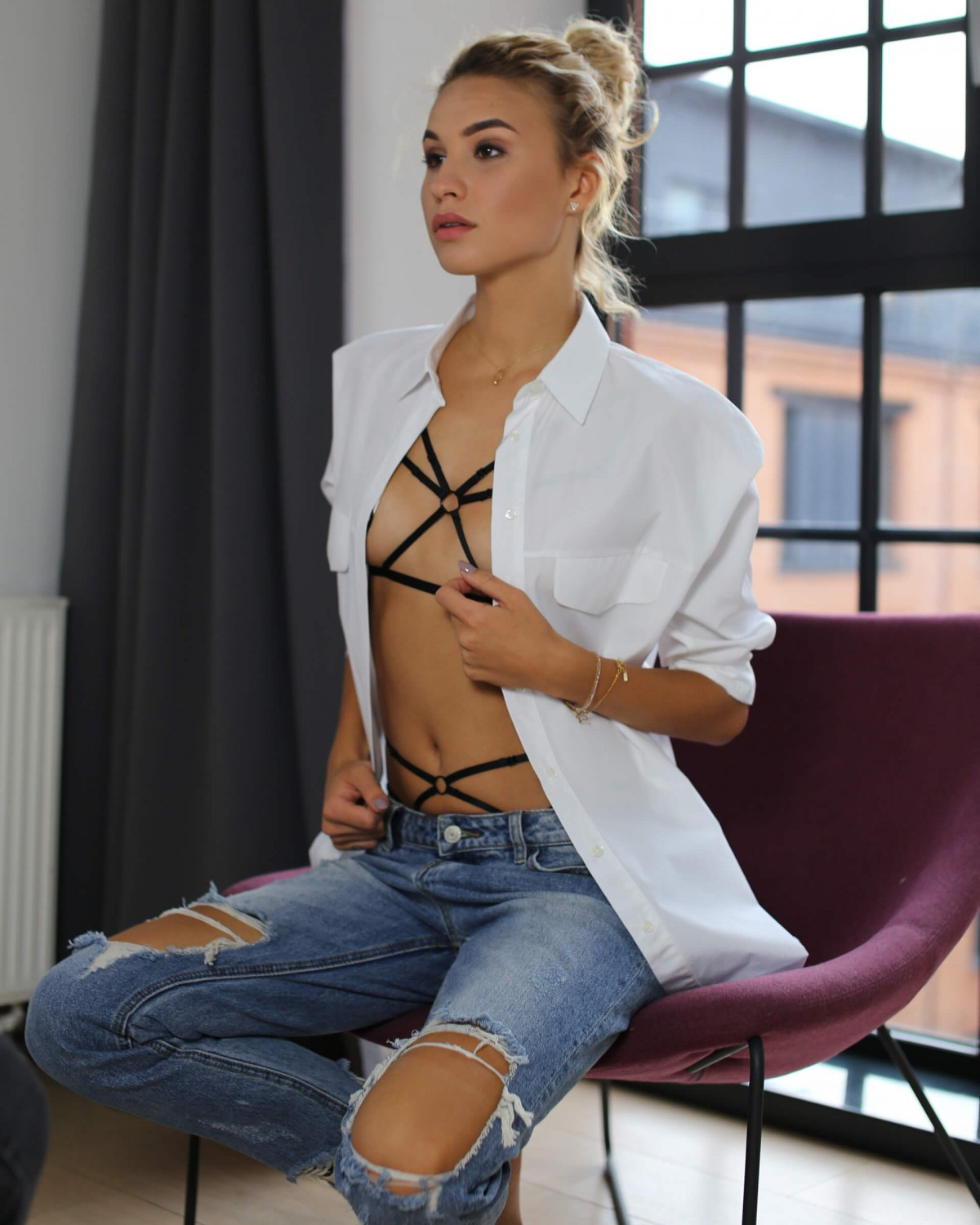 iris // body harness Body Harnessy Promees