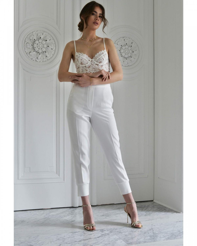 bianca white // półgorset Biustonosze Promees