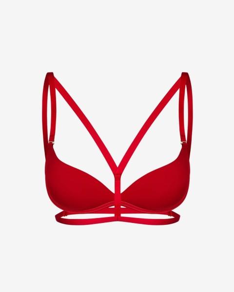 Chloe Red // straps