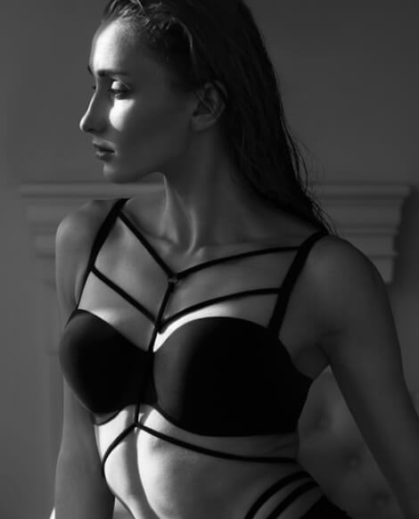 A bra with straps - change the content of your wardrobe - karuzela promees